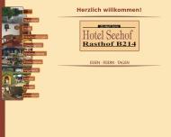 Website Hotel Seehof-Rasthof B 214 Piephans