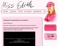 Website Zauberin Miss Edith (Zauberer)