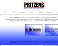 Website Pritzens Klimatechnik