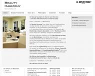 Website Beauty Harmony Martina Zandron