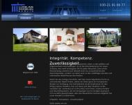 Bild Webseite Lüdeling Immobilien Berlin Berlin