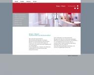 Website Bange + Wasert Rechtsanwälte PartGmbB