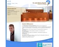 Bild Webseite Dr. Markus Keydel München
