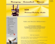 Website K50 Personal Training und Pilates Studio