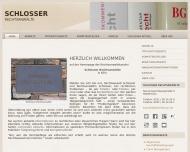 Bild Webseite Schlosser Rechtsanwälte Köln
