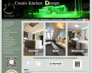 Website Creativ Küchen Design