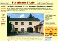 Bild Webseite Pension Forsthaus51 Magdeburg