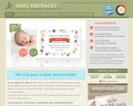 Bild Webseite Insel Eintracht Köln