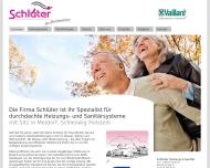 Website Schlüter Heizung & Sanitär, Inh. Volker Streich
