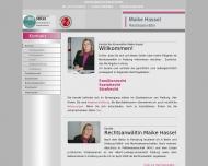 Bild Webseite Rechtsanwältin Maike Hassel Freiburg im Breisgau