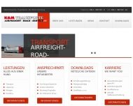 Website K & M Transport