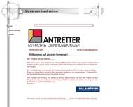 Website Antretter Estrich und Dienstleistung UG