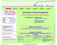 Website Nachhilfe-Freunde Magdeburg