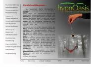 Website hypnOasis Karin Kirchbichler