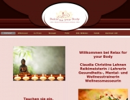 Website Wellness Massagen Reiki