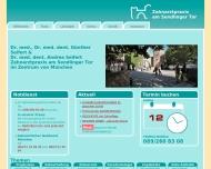 Bild Webseite Zahnarztpraxis Dr. Seifert + Seifert München
