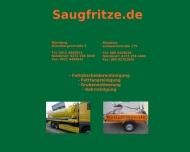 Bild Webseite Saugfritze Nürnberg