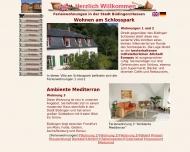 Bild Webseite Wohnen am Schlosspark Büdingen
