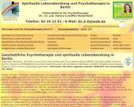 Website Dr. rer. pol. Scheffler-Hadenfeldt