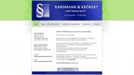 Website Bandmann - Krönert Partnerschaft