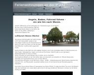 Bild Webseite Ferienwohnungen an der Müritz Waren (Müritz)