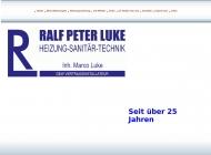 Bild Webseite Luke, Ralf-Peter Dortmund
