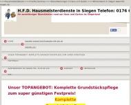 Bild HFD-Hausmeisterservice und Winterdienste in Siegen Inh. Jutta Brüggemann