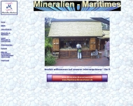 Website Mertins Mineralien
