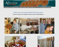 Website Kreuchwig Guitars