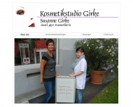 Website Kosmetikstudio Girke