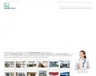 Bild Webseite CM Bauelemente Nürnberg