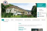 Website Orthopädische Klinik Dr.Muschinsky