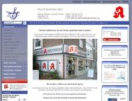 Bild Webseite Mozart-Apotheke Aachen