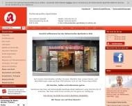 Bild Webseite Hohenstaufen-Apotheke Herbert Seewald Köln