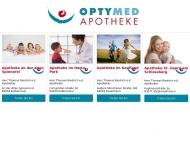 Bild Webseite Apothekengruppe Optymed Neue Pharmazie - Apotheke an der alten Spinnerei Kolbermoor Kolbermoor