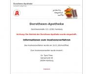 Dorotheen-Apotheke Hamburg
