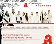 Willkommen in Ihrer Blumberger Apotheke - Blumberger Apotheke - Gesundheit - Service - Vertrauen