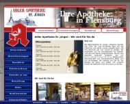 Bild Webseite Adler-Apotheke St. Jürgen Flensburg