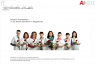 Bild Webseite Rosen-Apotheke Magdeburg