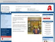Bild Webseite Die Apotheke am Hauptbahnhof Magdeburg