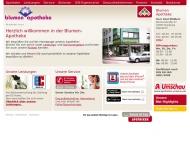 Bild Webseite Blumen-Apotheke Axel Mölders Duisburg
