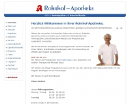 Bild Webseite Marien-Apotheke Köln