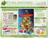 Bild Webseite Flora-Apotheke Köln