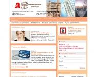 Bild Webseite Oranien-Apotheke Dr. Hans Dick Inhaber Hubert Wadle Wiesbaden