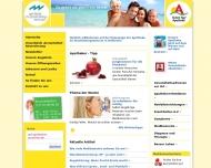 Bild Webseite Apotheke im Staufenbergzentrum Heilbronn