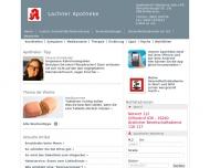 Bild Webseite Lachner-Apotheke München