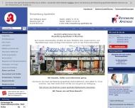 Bild Webseite Riesenburg-Apotheke München