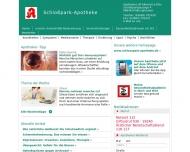 Bild Webseite Schloßpark-Apotheke Meitingen