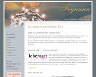 Bild Webseite Café Feynsinn & Lohrbaer Köln