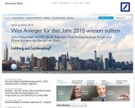 Bild Webseite Deutsche Bank Darmstadt
